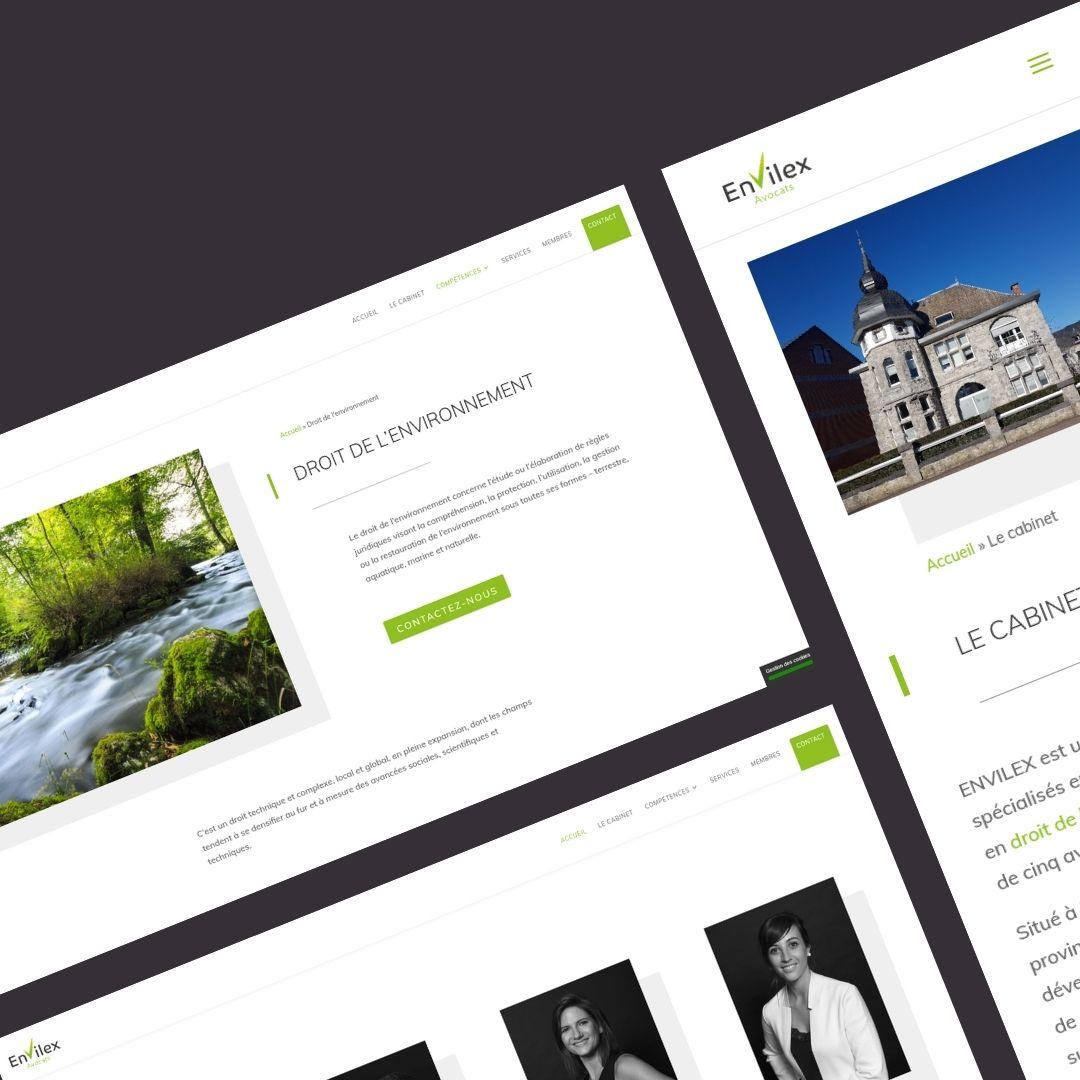 Création site internet Marche-en-famenne Envilex Avocat